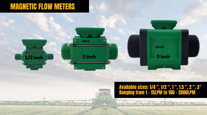 magnetic flow meters
